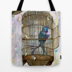 Birds in Love! Tote Bag