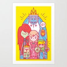 The Legend of Adventure Art Print