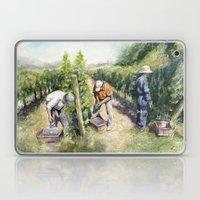 Vineyard Watercolor Wine… Laptop & iPad Skin