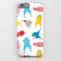 mur pattern1 iPhone 6 Slim Case