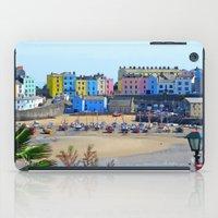 Tenby Harbour.Colour.Ref… iPad Case