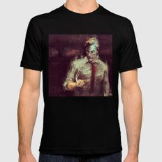 True Detective Black SMALL Mens Fitted Tee