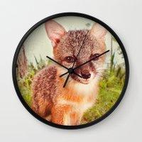 So Foxy! Wall Clock