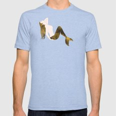 Gilt Mermaid Mens Fitted Tee Tri-Blue SMALL