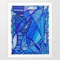 You've Got The Blues Too Art Print