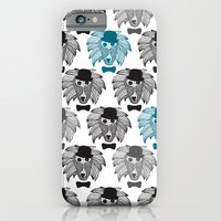 Hipster Baboon Monkey Ma… iPhone 6 Slim Case
