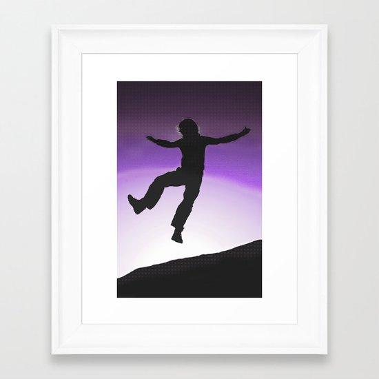 yippee Framed Art Print
