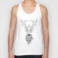 Poetic Deer Unisex Tank Top