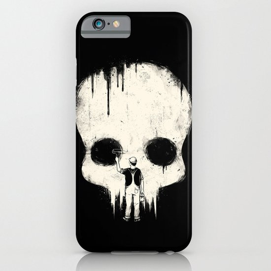 Paint it Black iPhone & iPod Case