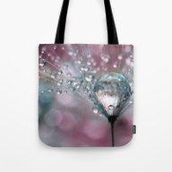 Rasberry Sparkles Tote Bag