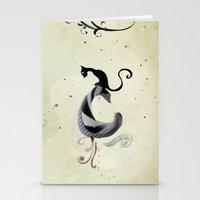 Cat Romance Stationery Cards