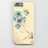 water iPhone & iPod Cases featuring Water Balloons by Alice X. Zhang