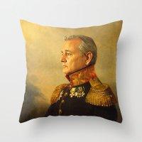 Bill Murray - Replacefac… Throw Pillow