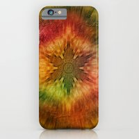 Psychedelic time warp iPhone 6 Slim Case