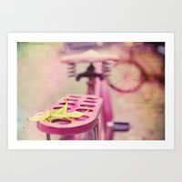 I Rode My Bicycle Past Y… Art Print