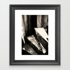 The Very End Framed Art Print