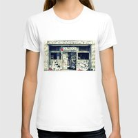 Never Mind The Rock Bar Womens Fitted Tee White SMALL