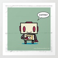 Coffee? Art Print