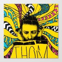 Thom Yorke Nightmare Canvas Print