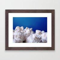 The Fluffy Mountains! Framed Art Print