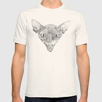 Sphynx Mens Fitted Tee Natural SMALL