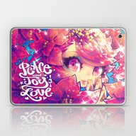 Peace Joy Love Laptop & iPad Skin
