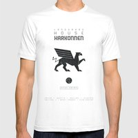 DUNE: HOUSE HARKONNEN Mens Fitted Tee White SMALL