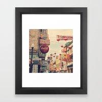 Chinatown (San Francisco… Framed Art Print