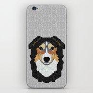 Zeke - Mountain Dog iPhone & iPod Skin