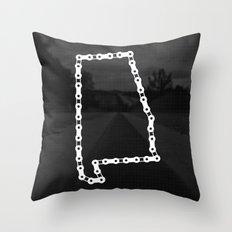 Ride Statewide - Alabama Throw Pillow