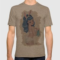 Blue Bunny Mens Fitted Tee Tri-Coffee SMALL