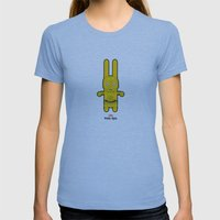 Sr. Trolo / C3PO Womens Fitted Tee Athletic Blue SMALL