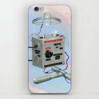 Uncle Rico's Time Machin… iPhone & iPod Skin