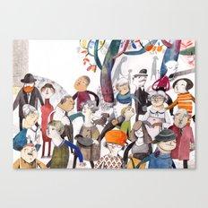 La Maestra Canvas Print