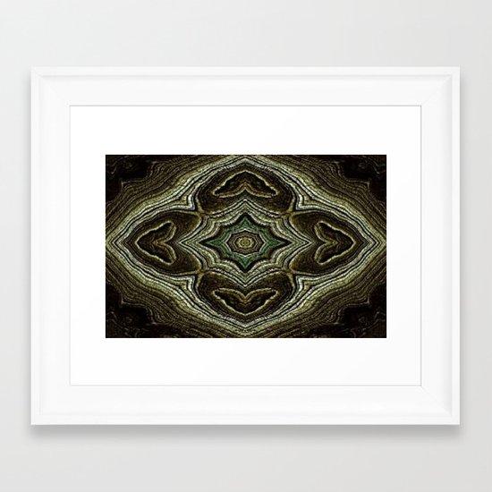 WOOLY WOO Framed Art Print