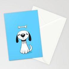 Puppy Bone Stationery Cards