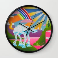 Long Ago and Far Away Wall Clock