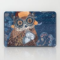 Owl and baby owlet iPad Case