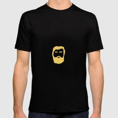 The Beard Mens Fitted Tee SMALL Black