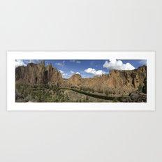 Smith Rock, Oregon Art Print