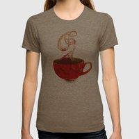 Hope will find them grey Womens Fitted Tee Tri-Coffee SMALL