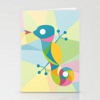 Kaleidoscope Lizard Stationery Cards