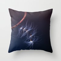 Hanging on by a Thread Throw Pillow