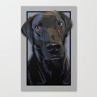Jeb Lab Dog Canvas Print