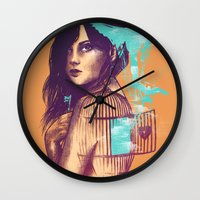 We Must Be Free Wall Clock