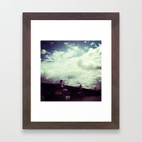 Burnside Bridge Framed Art Print