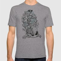 Love Is An Anchor Mens Fitted Tee Athletic Grey SMALL