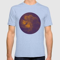 Fractal 8 Mens Fitted Tee Athletic Blue SMALL