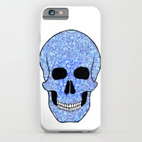 Blue Skull iPhone 6 Slim Case