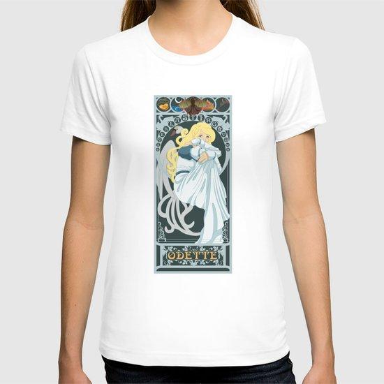 Odette Nouveau - Swan Princess T-shirt